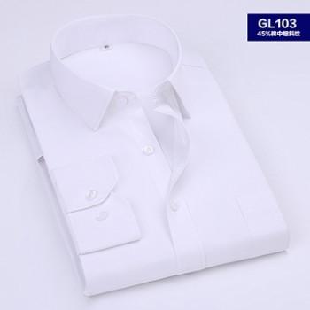 男长袖衬衫(无围条)
